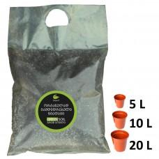 10 ლიტრი Green Soil ორგანულად გამდიდრებული ნიადაგი